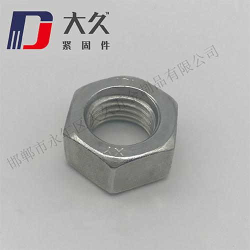 GB6170镀锌六角螺母