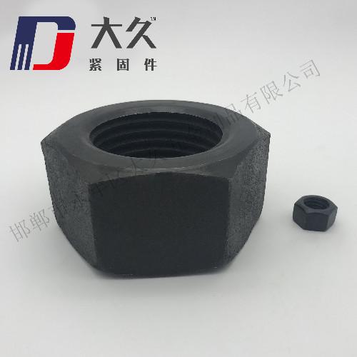 GB52发黑六角螺母