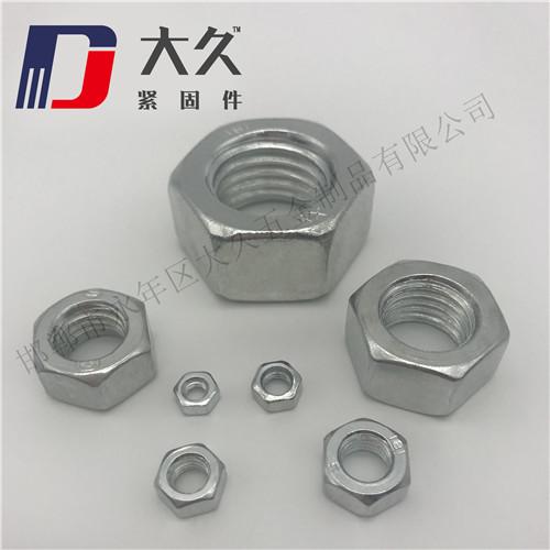 国标4.8级镀锌螺母-1