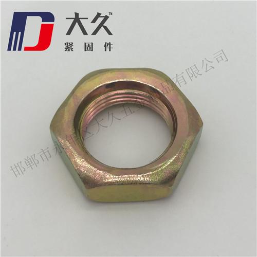 8级GB6172镀彩高强度薄螺母
