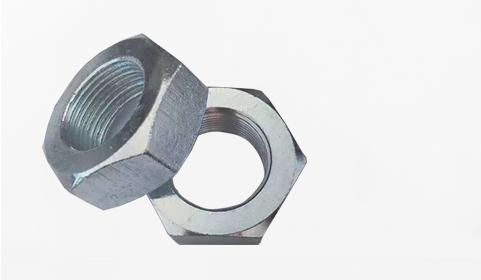 高强度螺母_8级GB6172镀锌薄螺母