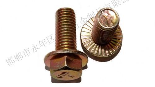 六角法兰螺栓的分类和应用