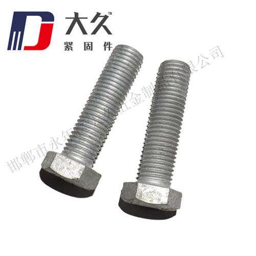4.8级GB5783热镀锌六角螺栓