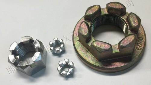 开槽圆螺母的自润滑功能