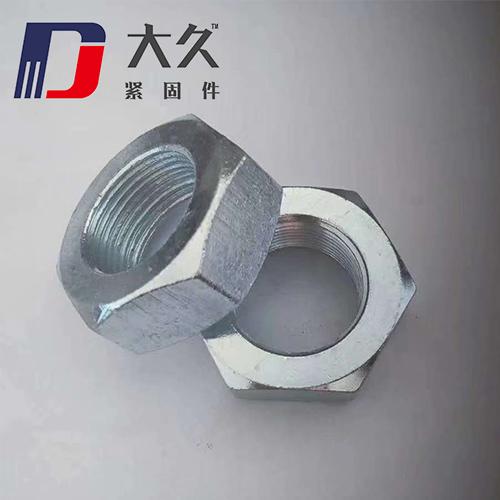 GB6172镀锌六角薄螺母