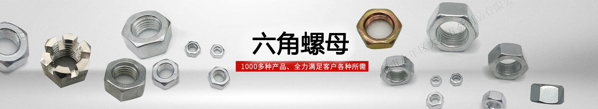 大久六角螺母,1000多种产品,全力满足客户各种所需