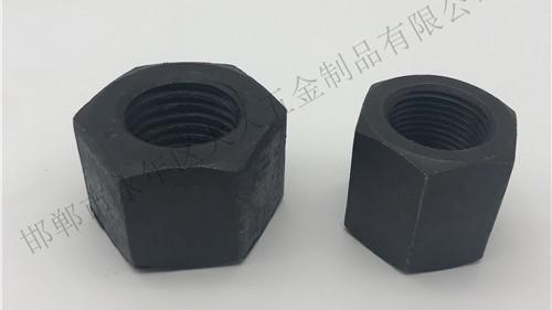 碳钢发黑六角螺母使用时要避免哪些问题呢?