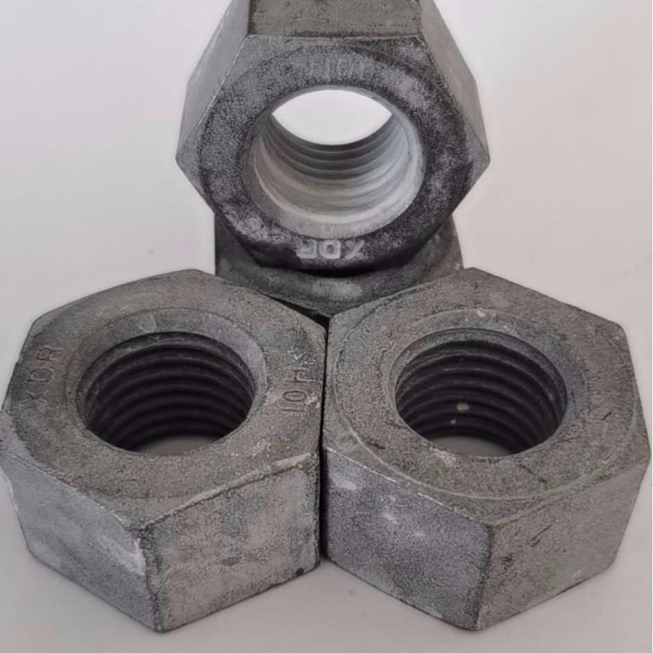 10级GB1229钢结构磷化高强度螺母