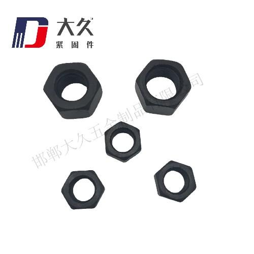 高强度螺母_8级GB52发黑螺母