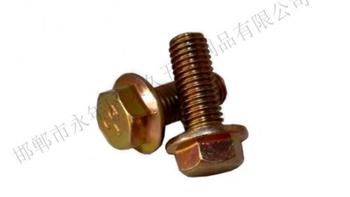 法兰螺栓和法兰螺母平面为什么要加一个角度