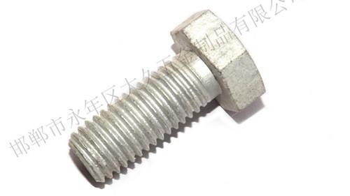 镀锌螺栓的镀锌层厚度标准是多少