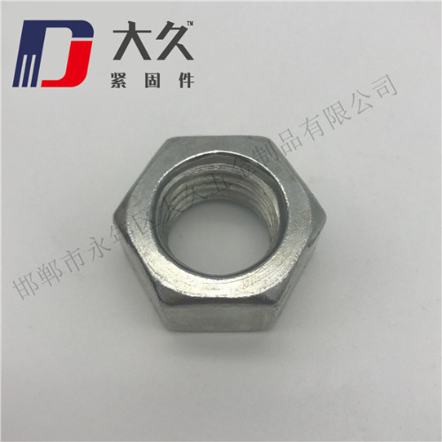 GB52镀锌六角螺母