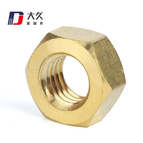 高强度螺母_8级GB6171镀彩锌细牙螺母