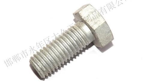 热镀锌螺栓为什么会生白锈?