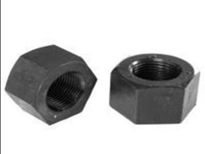 美标重型螺母螺栓的尺寸