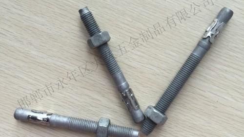 膨胀螺栓使用时应该如何选择型号
