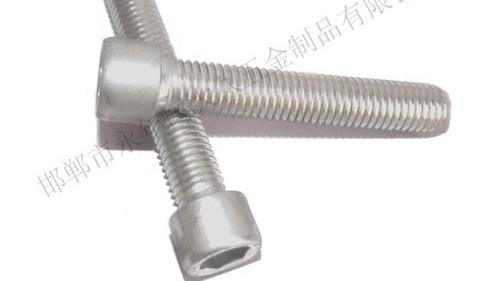 冷镦机制造外六角螺栓的工序